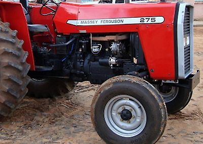 Massey Ferguson MF 275 Tractors Parts Manual