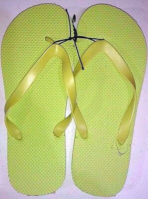 New Men's Unisex Flip Flops/Shower Shoes Blue, Orange, Black,Red,Lime Green,Grey 5