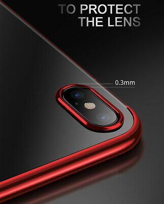 Case For iPhone 8 7 6s Plus XR XS MAX X Cover 360 Hybrid Shockproof Silicone GEL 8