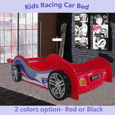 Kids Racing Car Bed Single Size Children Bedroom Furniture Kids Race