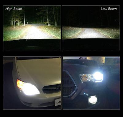 For Toyota 4Runner 2010-2018 6x LED Headlight Bulbs Kit Hi/low Beam + Fog Light 7
