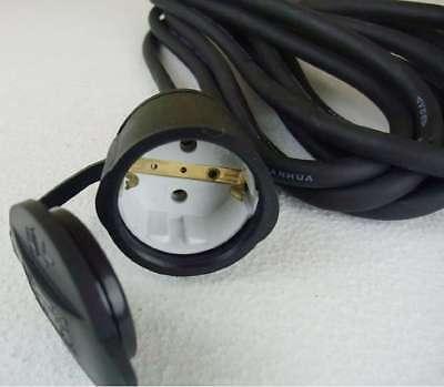 Außen 3x1,5mm² H07RN-F Stromkabel 10x 5 m Schuko Industrie Verlängerungskabel f