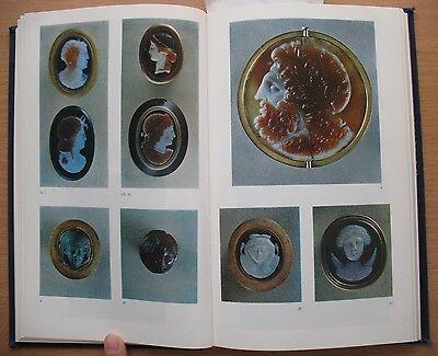 Russian Book Antique Cameo Art Old Miniature Portrait Stone Vintage Antique VTG 4