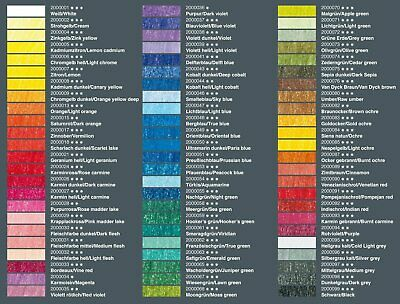Coloured pencils POLYCOLOR REMBRANDT LYRA 72 colours in Gift box 2001720 6