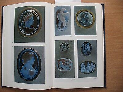 Russian Book Antique Cameo Art Old Miniature Portrait Stone Vintage Antique VTG 7