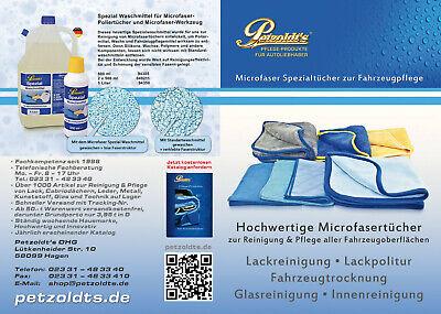 3× Petzoldts Mikrofasertuch Superflausch 3.1 Microfaser-Poliertuch & Trockentuch 8