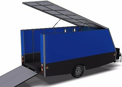 Trailer Plans - 6m ENCLOSED & 4m ENCLOSED MOTORBIKE TRAILER PLANS - on CD-ROM 7