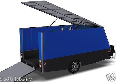 Trailer Plans - 4m ENCLOSED MOTORBIKE TRAILER - PLANS ON CD-ROM 6