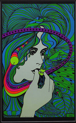 Choose from 60 different Psychedelic Blacklight Poster reproductions 1960's-70's 4