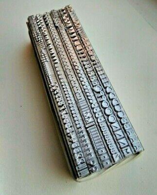 14 point GILL SANS MEDIUM 3A Letterpress Metal Printing Type 4