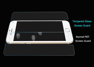 2x Scratch Resist Tempered Glass Screen Protector Apple iPhone 8 7 6s 6 Plus 5s 6