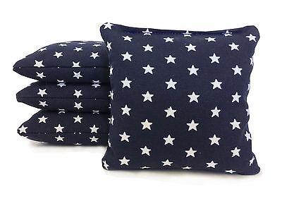 Set of 8 Cornhole Bags Regulation Size - 25 Colors -High Quality -  Corn Filled 12