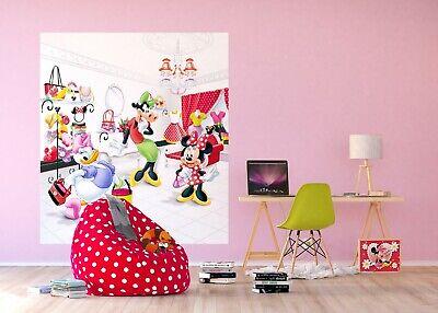 Disney Papier Peint Mural Pour Enfants Chambre Minnie Mouse Design Photo Mural