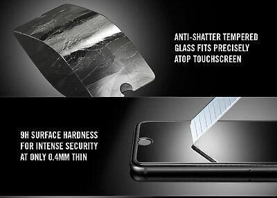 iPhone XS Max XR X 8 7 Plus - 2X NUGLAS Tempered Glass Screen Protector Apple 4