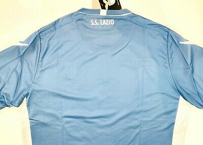 NWT SS LAZIO 2015/16 XL Home Macron Football Shirt Soccer Jersey ...