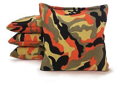 Set of 8 Cornhole Bags Regulation Size - 25 Colors -High Quality -  Corn Filled 9