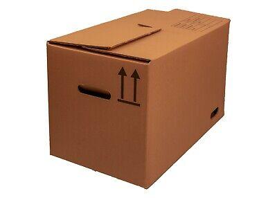 75 Faltkartons 400x400x200 Europaletten Modul Maß Versandbox Umzugs-Bücherkarton