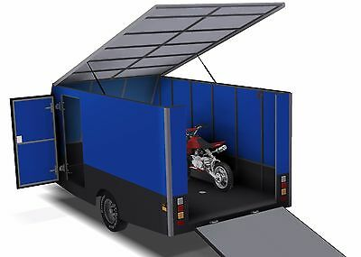 Trailer Plans - 6m ENCLOSED & 4m ENCLOSED MOTORBIKE TRAILER PLANS - on CD-ROM 9
