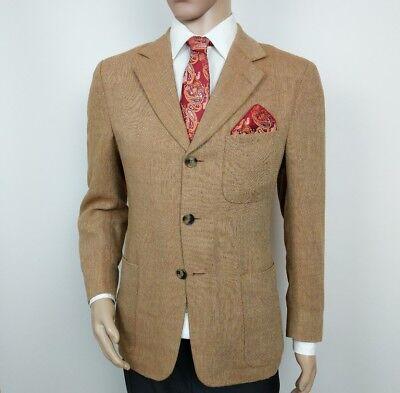 New Luxury Ermenegildo Zegna Mens Sport Coat Shooting Blazer UK 38R RRP £1685 2