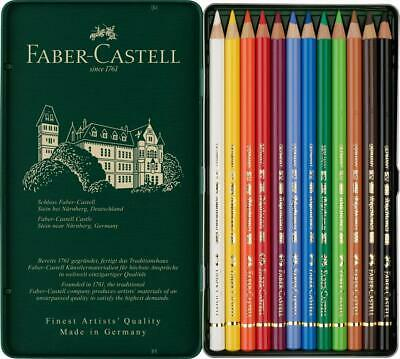Faber-Castell Polychromos Artists' Colour Pencil 12 Tin Set 2