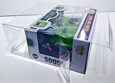 1 Box Protector For Funko Pop! KANG AND KODOS SIMPSONS 2 pack! New Display Cases 4