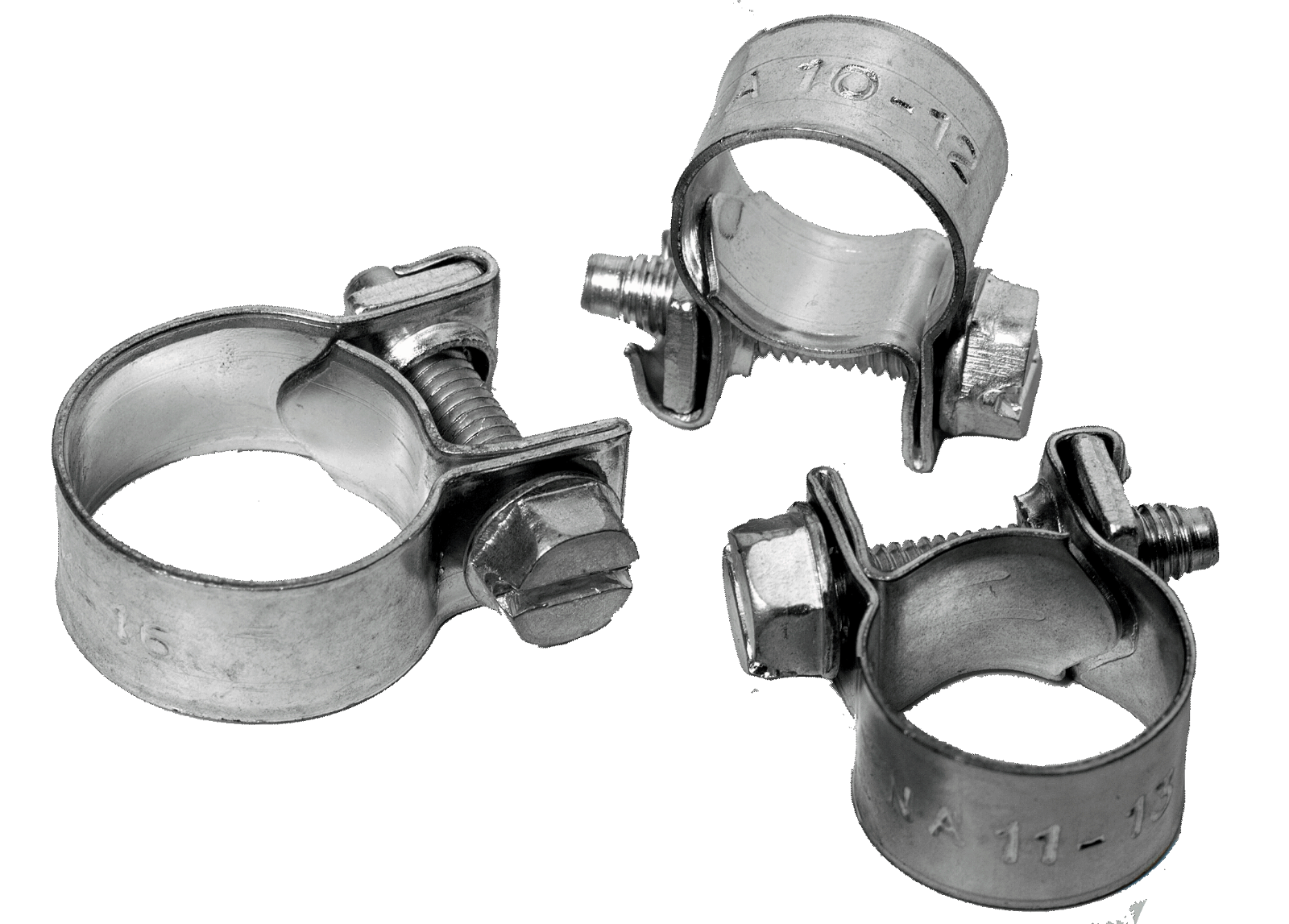 Stainless Steel Jubilee Hose Clip Mini Fuel Line Clamp Diesel Petrol Pipe Clamps 11