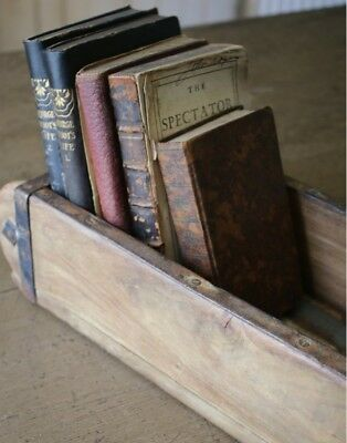 Vintage Brick Mould, Wooden Storage Box, wooden shelving display 5