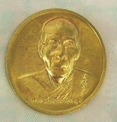 Pendant LP.Phen Color Silver Thai Hanuman invite flag Amulet Protection Life