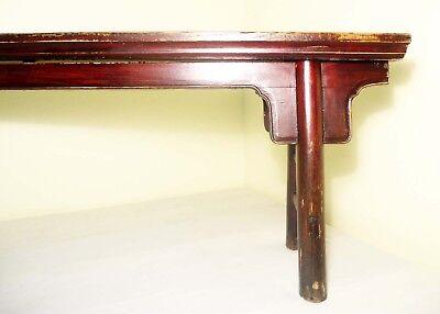 Antique Chinese Ming Bench (Pair)(2855), Circa 1800-1849 3
