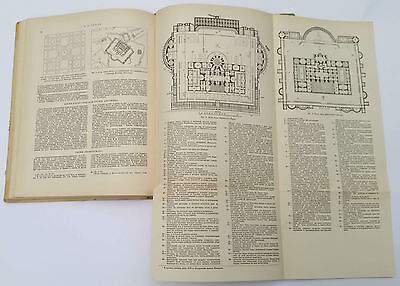 "1939 Charles Cameron Architect ""TERMS of ROMANS"" Illustrated Book Russian Edit. 11"