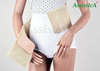 ASSISTICA® UMBILICAL HERNIA Support Brace, Medical Abdominal Truss for  Adults