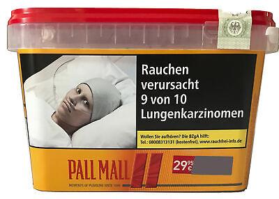 4 x Pall Mall Mega Box Volumentabak 185g, Feuerzeuge, 2.000 Allround Xtra Hülsen 4
