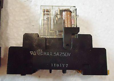 6 Used Omron G2R-212S-V-N-Us W/Rj9Sa)Max.5A250V And Aluminum Runner/Base Japan 2