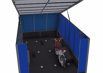 Trailer Plans - 6m ENCLOSED & 4m ENCLOSED MOTORBIKE TRAILER PLANS - on CD-ROM 11