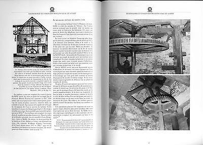 Moulins en Hainaut Hannonia  Mühlengeschichte Müller Windmühlen Mühlentechnik 5