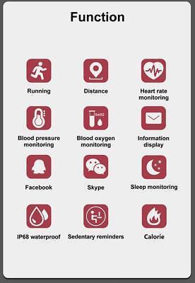 Smartwatch Cardiofrequenzimetro Da Polso Sport Bluetooth Gps Contapassi Calorie 3