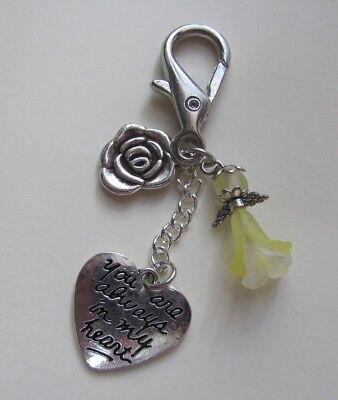 Memory Memorial Keepsake Card Gift Charm Bereavement Loss Remembrance Day Angel 2