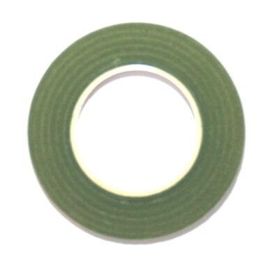 12 Reels Of Light Moss Green Floral Florist Tape Waterproof Buttonholes Stemwrap 2