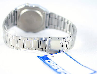 Casio Classic Digital Stainless Steel Alarm Stopwatch Casual Watch A158WEA-9 New 3