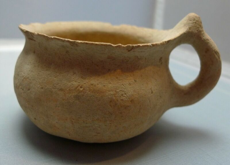 Herodian Terracotta Cup 50 BC - 150 CE Ancient Pottery 4