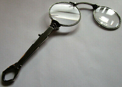 Lorgnon Silber 935 Brille Antik 4