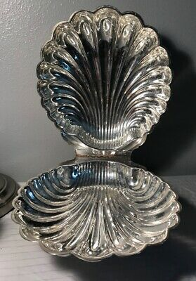 A lovely Poole by Leonard Silver Plate Swan Footed Casserole 2