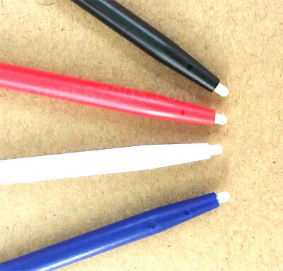 4pcs Stylus For Nintendo 2DS Slot in Touch Pen Set Red Blue White & Black WF 3