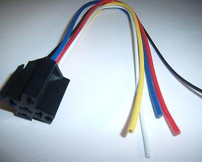 Outstanding 1 12V Dc Spdt Relay Socket Harness 5 Pin Wire 16 14 Ga Gauge Plug Wiring Digital Resources Honesemecshebarightsorg