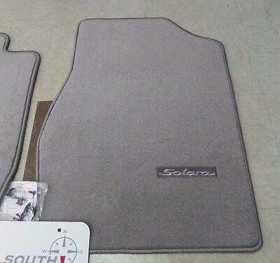 For Dark Charcoal Carpet Floor Mats Genuine For Toyota Solara Convertible 04-08