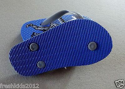 "NWT Empire Little Boys Sport-Theme Flip-Flop Sandals /""Football/"" size M 12-13"