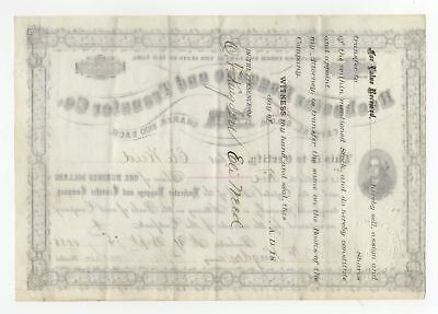 Rochester Baggage and Transfer Co. collectible Stock Certificate