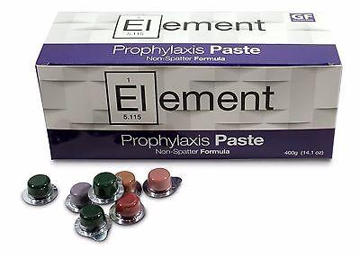 Element Prophy Paste Cups BUBBLE GUM COARSE 200/Box  Dental NonSplatter Flouride