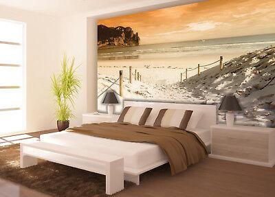 VLIES Fototapete-DÜNEN- 2281 -Strand Küste Meer Nordsee Ostsee Berge Wald Mural