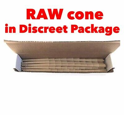 Raw Classic King Size pre Rolled Cone With Filter  (100 Packs)100% AUTHENTIC 4